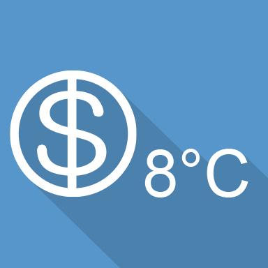Функция «8 °С»