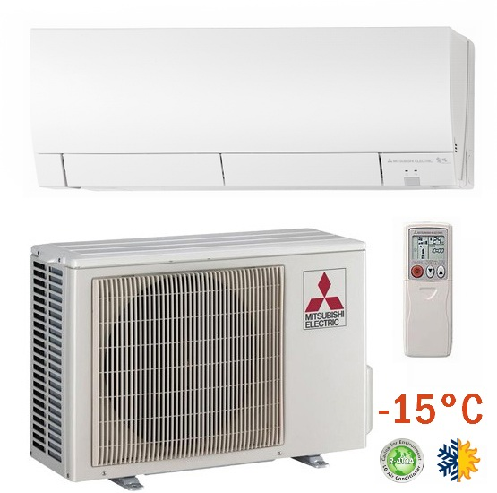 Cерия настенных инверторных сплит-систем Mitsubishi Electric Deluxe Inverter. Mitsubishi Electric. Кондиционер Mitsubishi Electric MSZ-FH25VE / MUZ-FH25VE.