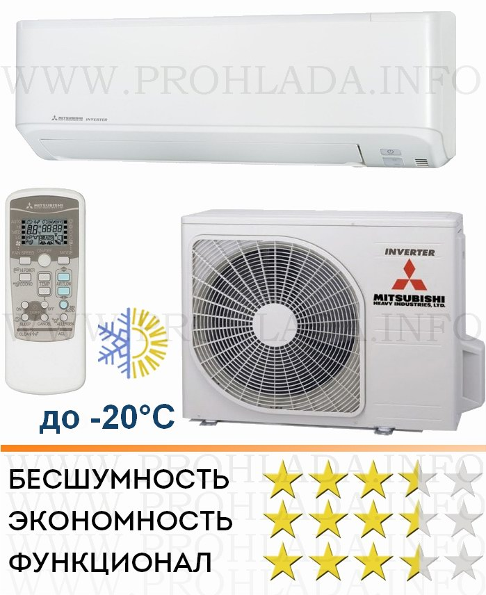 Кондиционер mitsubishi electric как включить на обогрев