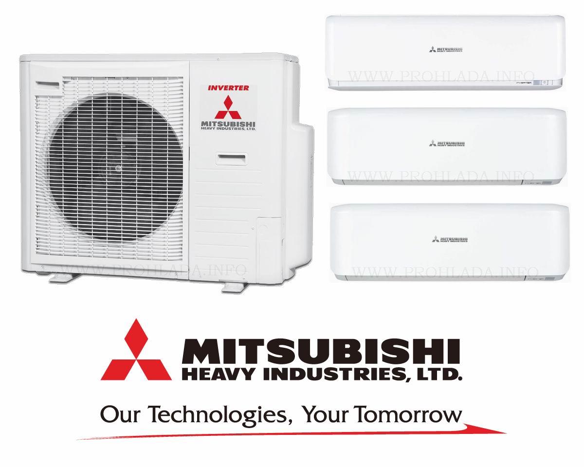 Mitsubishi heavy кондиционер на 160м